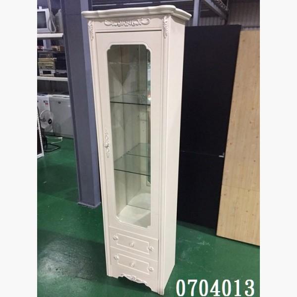 (其它橱柜)全新/库存 莘亚欧式白色展示柜