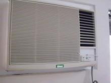 [9成新] 日昇家電~吉普生1噸右吹窗型冷氣窗型冷氣無破損有使用痕跡