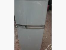 [9成新] 黃阿成~東芝120公升雙門冰箱冰箱無破損有使用痕跡