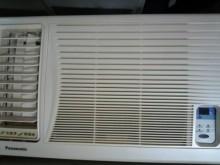 [9成新] 日昇家電~國際1噸左吹窗型冷氣窗型冷氣無破損有使用痕跡