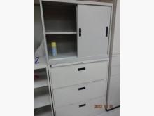 [9成新] 辦公室上下層鐵櫃<可拆賣>辦公櫥櫃無破損有使用痕跡