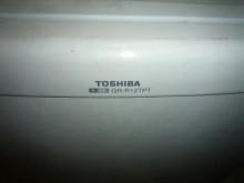 [9成新] 日昇家電~東芝120公升雙門冰箱冰箱無破損有使用痕跡