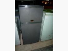 [8成新] 日昇家電~三洋95公升雙門冰箱冰箱有輕微破損