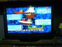 [8成新] 明碁37吋液晶色彩鮮艷畫質清電視有輕微破損