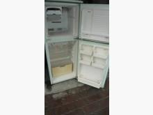 [8成新] 黃阿成~聲寶120公升雙門冰箱冰箱有輕微破損