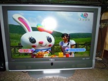 [8成新] 東元37吋液晶畫質優 色彩鮮艷電視有輕微破損