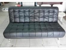 [全新] 樂居二手家具 三人座透氣皮沙發雙人沙發全新