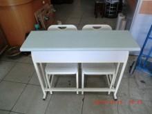[8成新] 樂居二手傢俱館 課桌椅 書桌椅書桌/椅有輕微破損