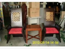 [8成新] 華麗國王椅 二手餐椅宏品家具餐椅有輕微破損