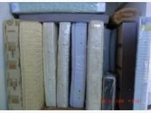 [8成新] 樂居二手傢俱館 二手床墊雙人床墊有輕微破損