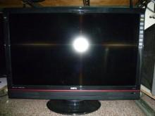 [8成新] 李太太明碁42吋液晶色彩鮮艷電視有輕微破損