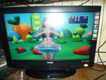 [8成新] 李太太~東元32吋液晶色彩鮮艷電視有輕微破損