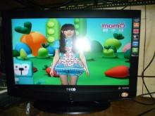 [8成新] 東元32吋液晶畫質優 色彩鮮艷電視有輕微破損