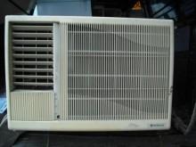 [8成新] 日立國際東元三洋歌林10坪冷氣機窗型冷氣有輕微破損