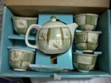 高級茶具組(一壺五杯)茶壺/水壺全新