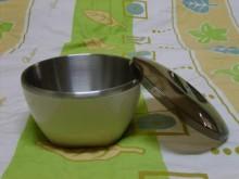雙層不鏽鋼隔熱泡麵碗碗/缽/盤/碟全新