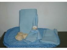 手工縫製四人套組餐墊餐巾+餐巾環廚房用品全新