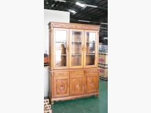 [全新] 宏品~Q270*名式柚木法式書櫥收納櫃全新