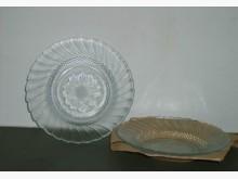 太陽造型玻璃水果盤二個一組碗/缽/盤/碟全新