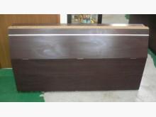 胡桃木床頭櫃*9成新床頭板/2手床頭櫃無破損有使用痕跡