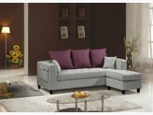 [全新] 紗南L型布沙發椅 桃園區免運費L型沙發全新