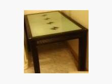 餐桌椅拍賣餐桌無破損有使用痕跡