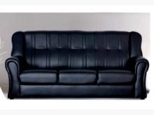 [全新] 138型黑色皮三人沙發 桃園免運雙人沙發全新