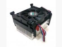 二手CPU散熱器+散熱扇+固定架電腦產品無破損有使用痕跡