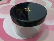 [95成新] (購物可索取)透明塑膠圓收納盒收納罐近乎全新