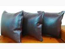 咖啡色乳膠厚皮方型抱枕 可接訂色抱枕/靠枕全新