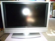 明碁32吋液晶畫清晰色彩鮮艷電視有輕微破損