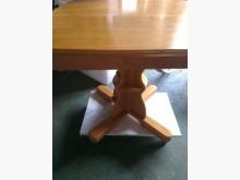 實木拉桌餐桌無破損有使用痕跡
