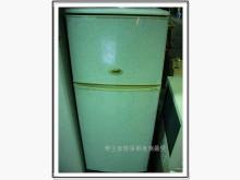 [9成新] 東元135公升小鮮綠雙門小型冰箱冰箱無破損有使用痕跡