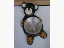 小熊造型寵物餵食器其它家庭雜貨近乎全新