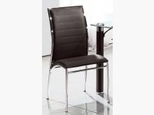 [全新] 不鏽鋼框黑皮餐椅 2400餐椅全新