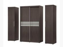 [全新] 米樂鐵刀木色7尺衣櫃28600衣櫃/衣櫥全新