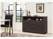 [全新] 鐵刀木色4尺餐櫃 現價7900碗盤櫥櫃全新
