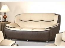 [全新] 702型乳膠皮三人沙發 桃園免運雙人沙發全新
