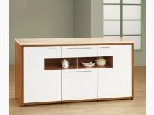 [全新] 潘迪柚木白5尺石面碗盤櫃9900碗盤櫥櫃全新