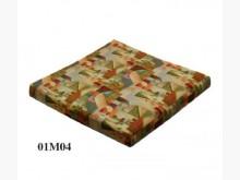 [全新] M04正方提花布坐墊 滿6片免運木製沙發全新