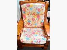 [全新] 花色緹花布雙凸椅墊 滿7片免運費木製沙發全新
