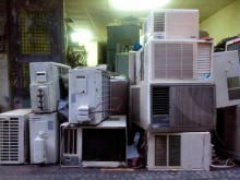 分離式冷氣2.0頓保固一年分離式冷氣無破損有使用痕跡