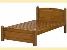 [全新] 安琪3.5尺柚木色單人床單人床架全新