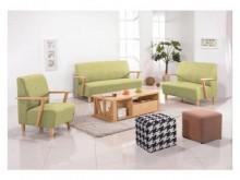 [全新] 維也納本色綠皮沙發組*可拆買*多件沙發組全新