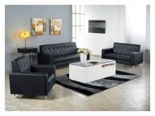 [全新] 標緻黑皮水鑽沙發組**可拆多件沙發組全新