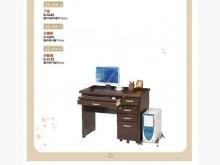 [全新] 928A胡桃電腦桌三件組6800電腦桌/椅全新