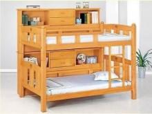 [全新] 3.5尺檜木色雙層床組其它家具全新