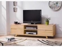 [全新] 羅本北歐6尺全實木電視櫃電視櫃全新