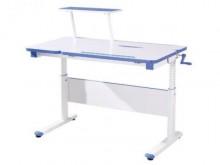 [全新] 維尼3.3尺升降電腦書桌-藍色電腦桌/椅全新