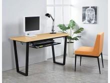 [全新] 安德斯4尺栓木本色兩用書桌電腦桌/椅全新
